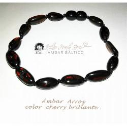 Ámbar Arroz Cherry Brillante
